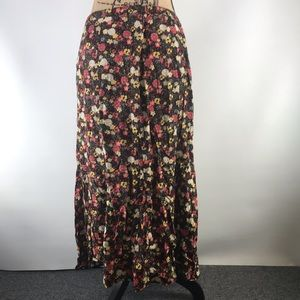 Christopher & Banks Skirts - Christopher & Banks long floral skirt size 14